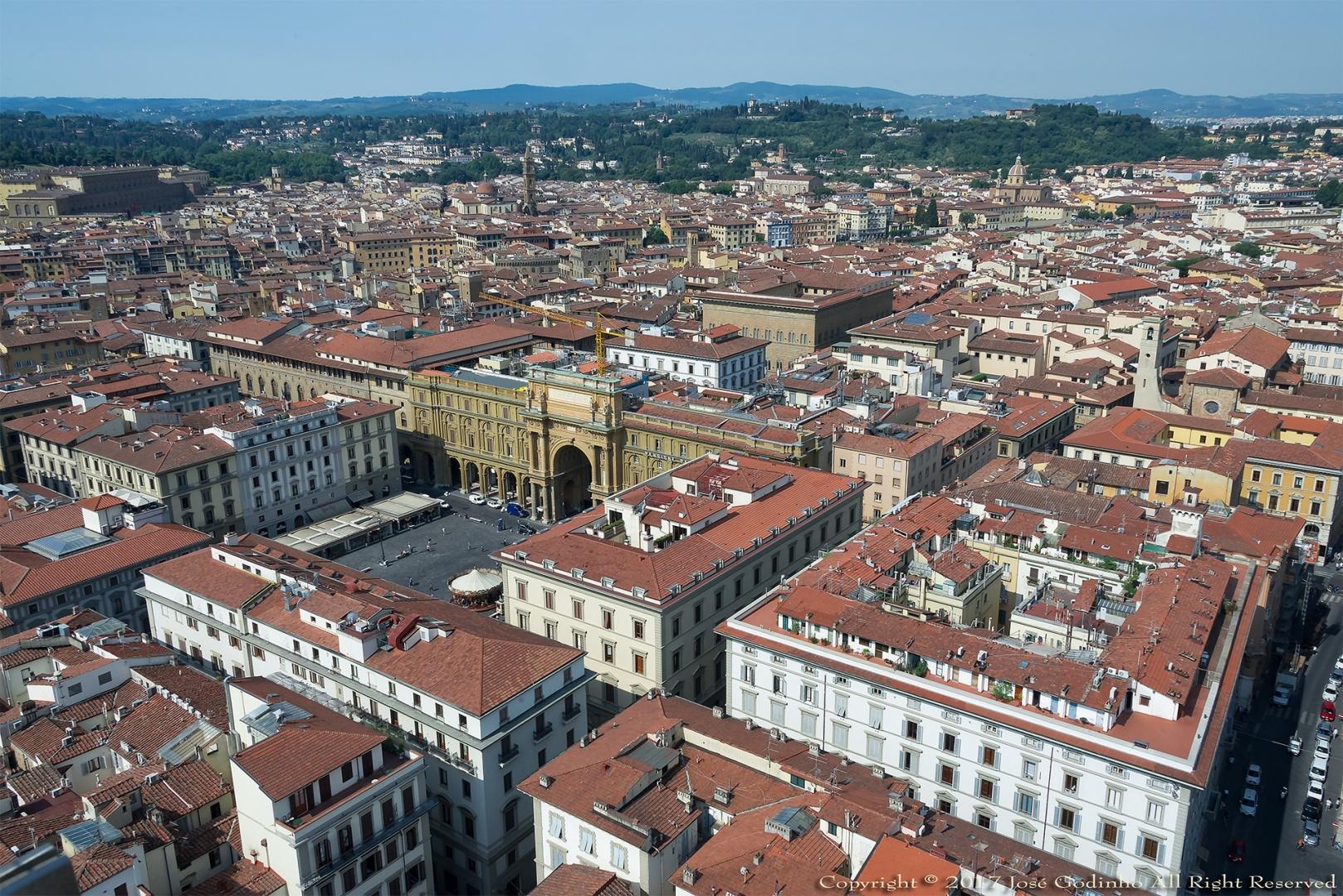 Paisagem Urbana/Florença (Bom domingo)