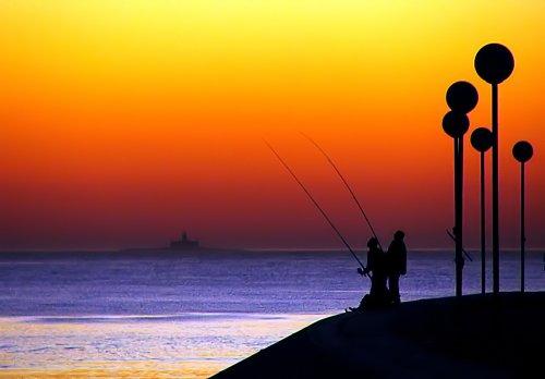 Paisagem Natural/Pescadores de um mundo colorido