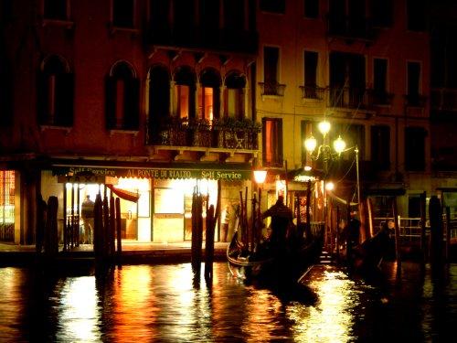 Paisagem Urbana/Veneza de noite