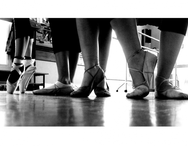 Espetáculos/Aula de Ballet