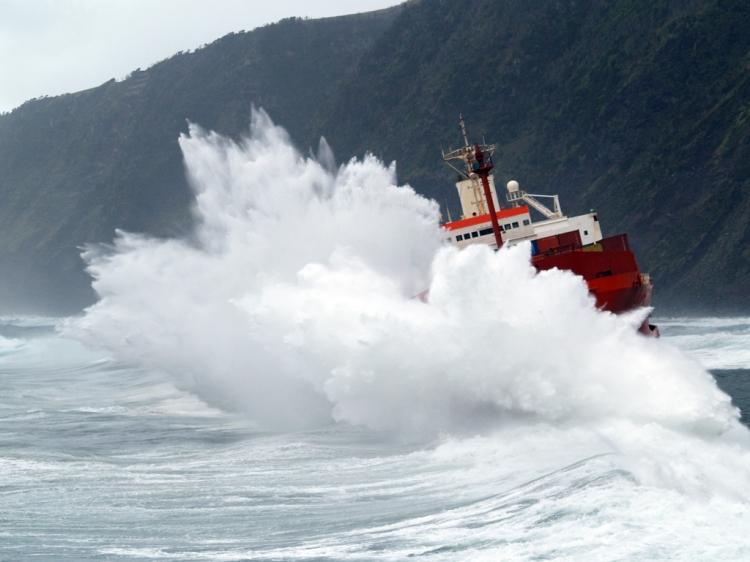 Fotojornalismo/A Força do Mar