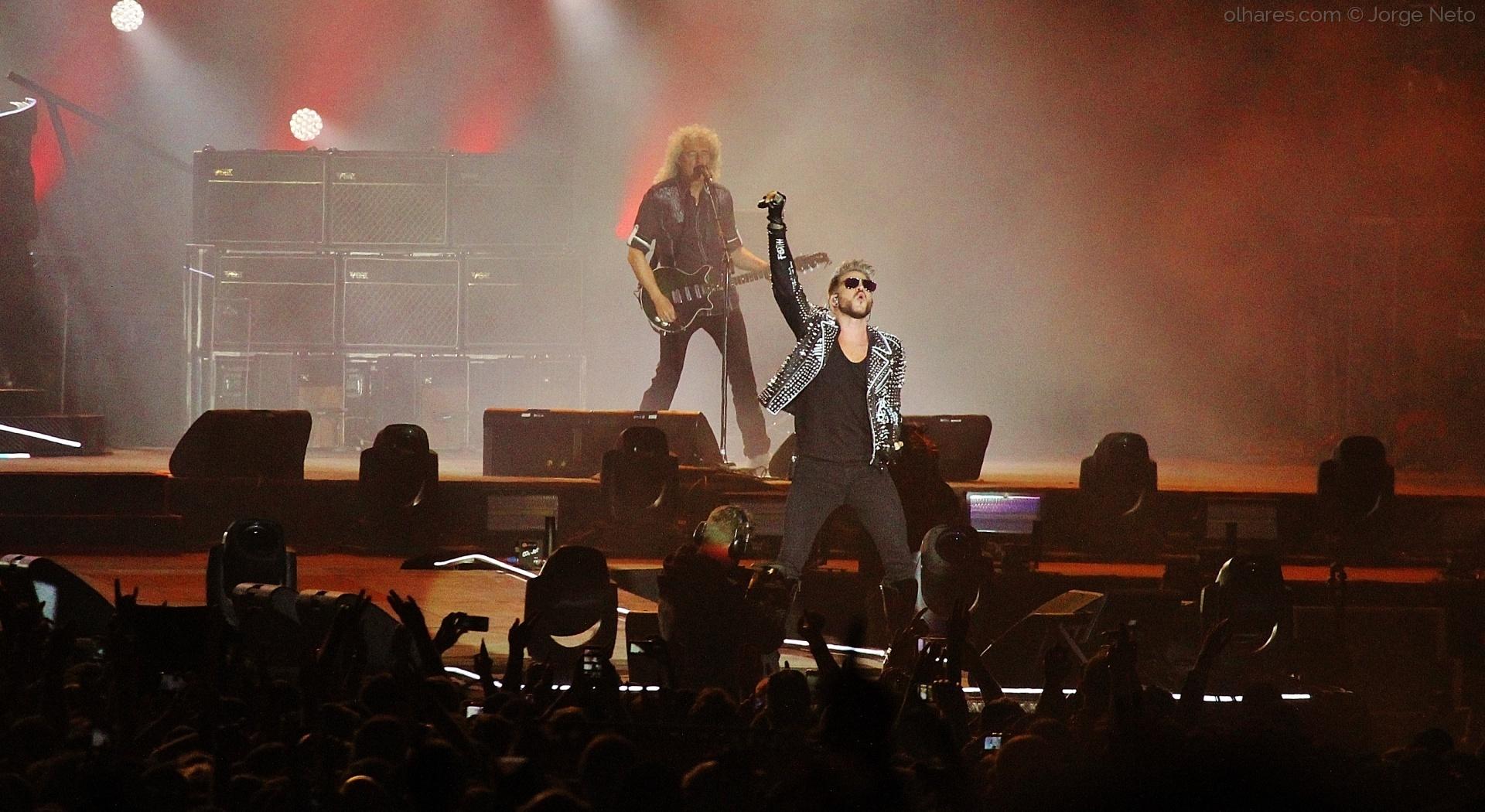 Espetáculos/Queen & Adam Lambert