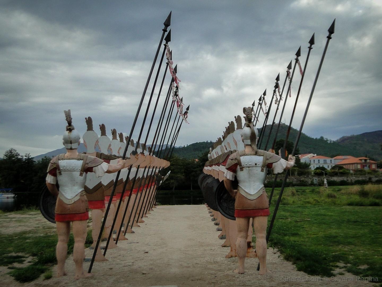 História/soldados romanos