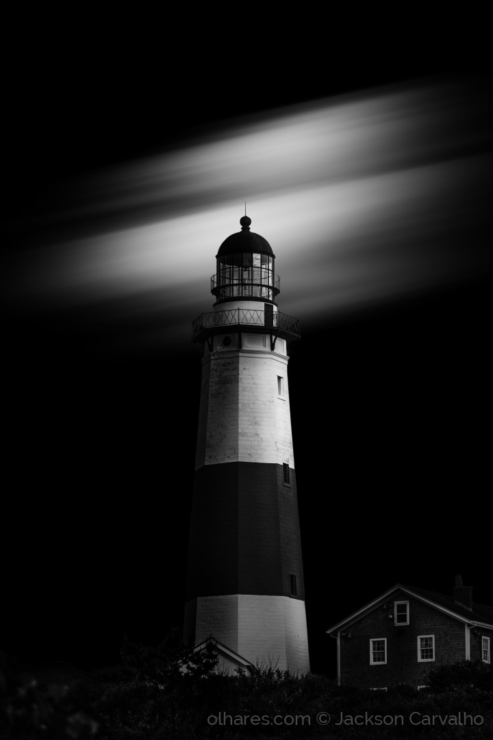 Paisagem Natural/America in Noir - The Lighthouse