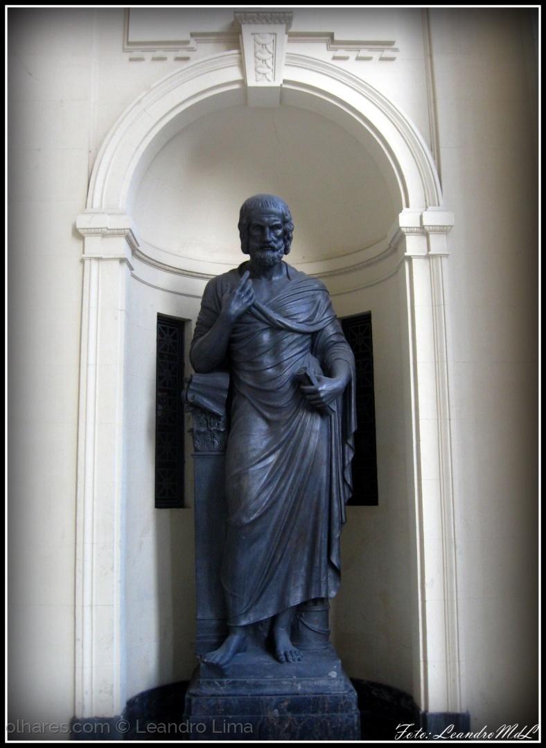 História/Estátua da Sabedoria - Palácio Tiradentes (ler)