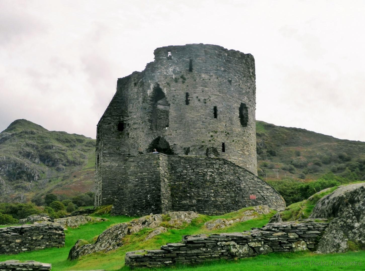 História/Torre do Castelo de Dolbadarn