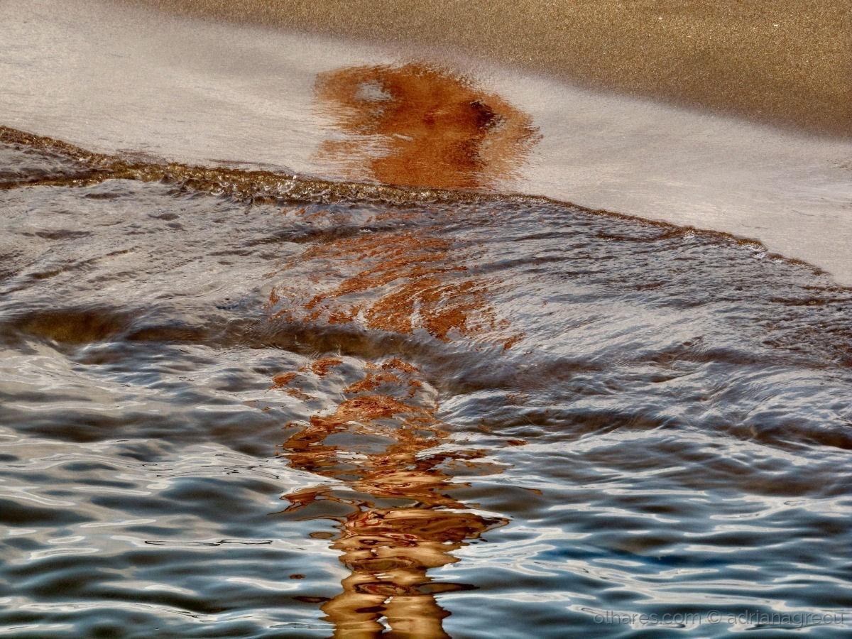 Abstrato/ilusão aquática