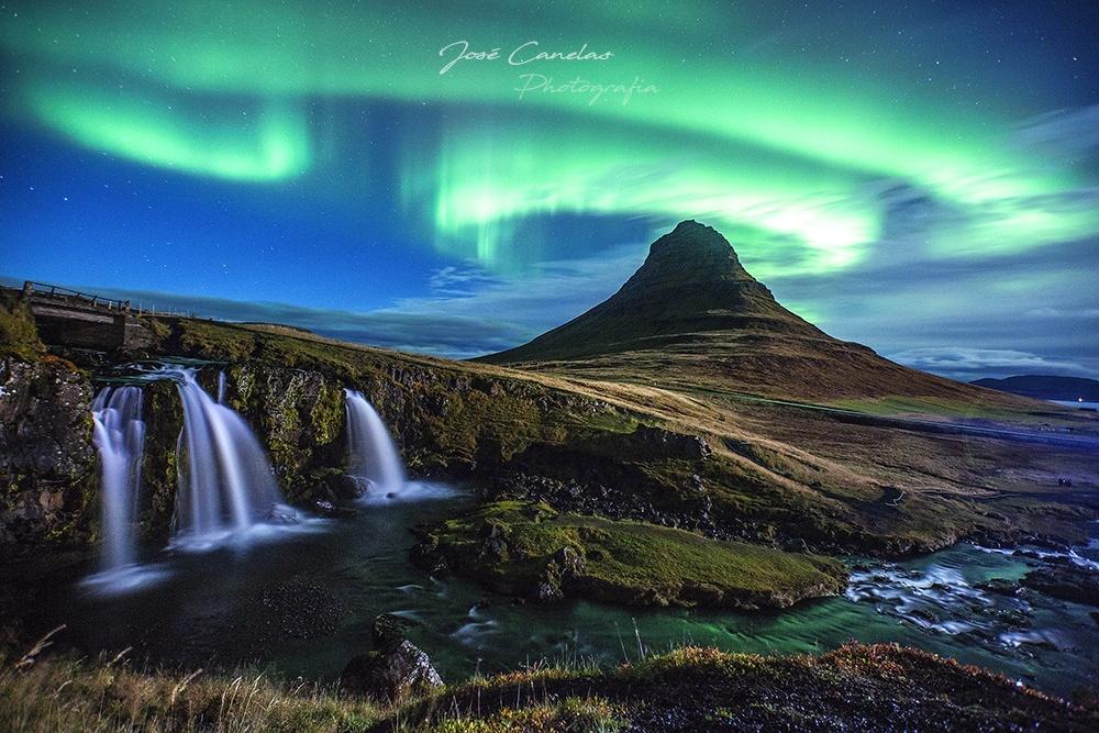 Paisagem Natural/Islândia 2017 - Aurora Boreal / O regresso ao Sonh