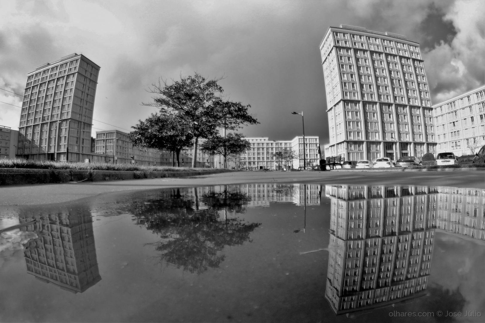 Paisagem Urbana/A cidade depois da chuva
