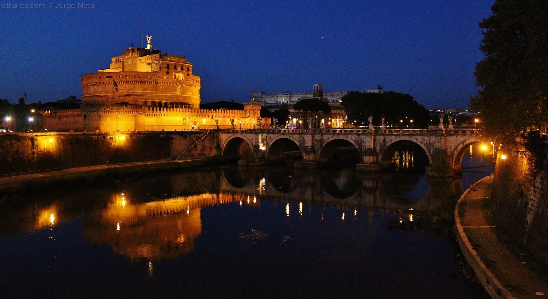 História/Castel Sant'Angelo à Noite