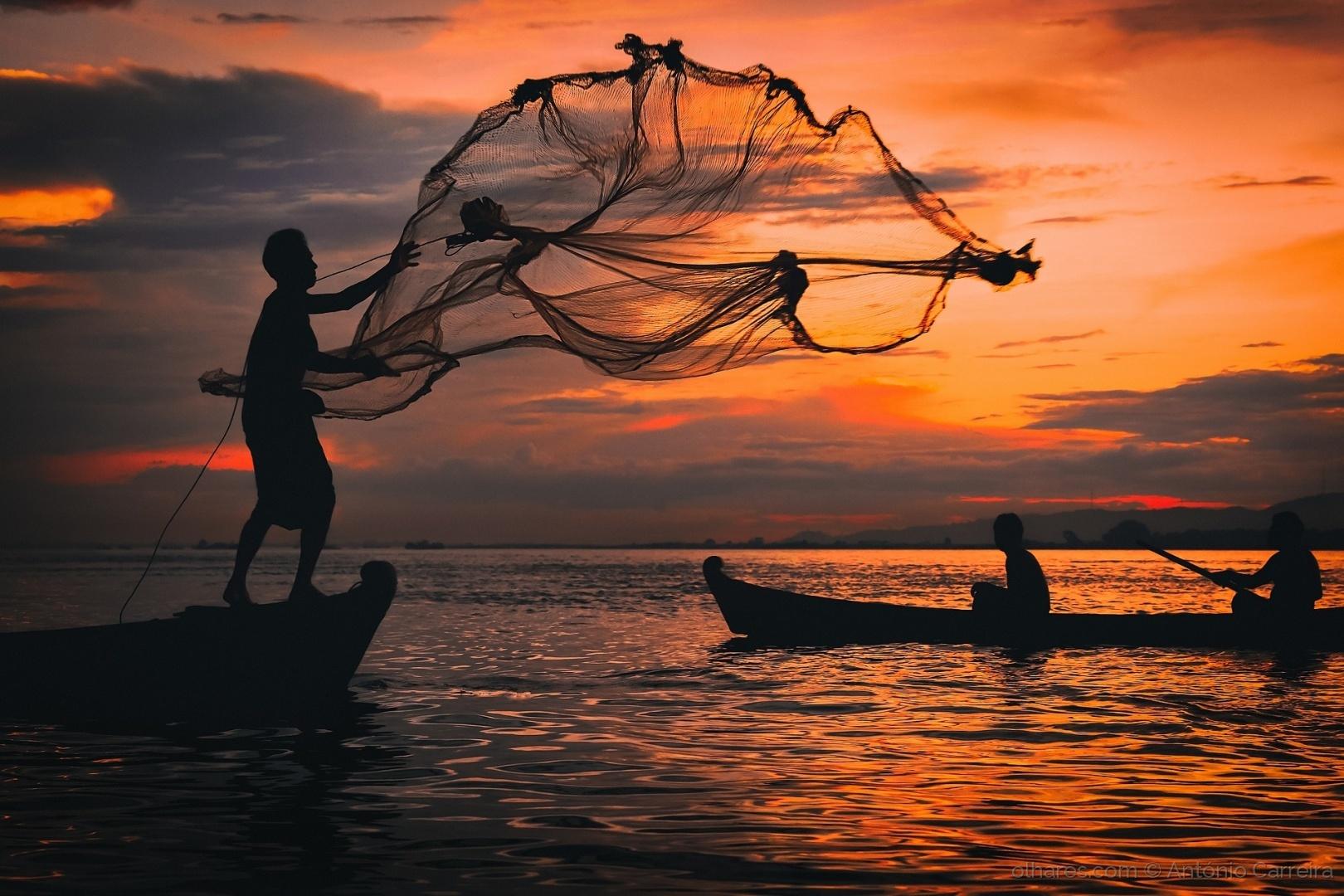 Gentes e Locais/O pescador do fim de dia