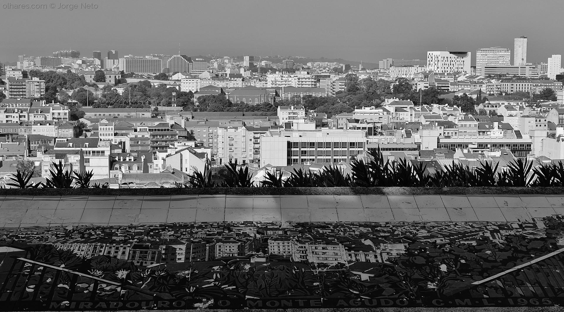 Paisagem Urbana/Miradouro do Monte Agudo
