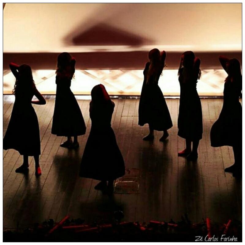 Espetáculos/As seis bailarinas!