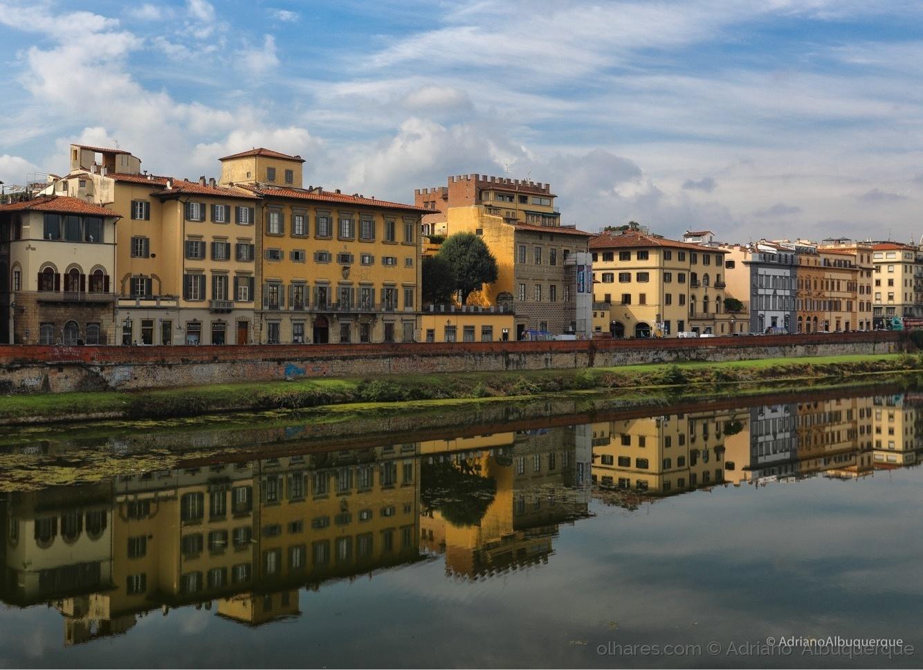 Paisagem Urbana/Um olhar por Firenze.