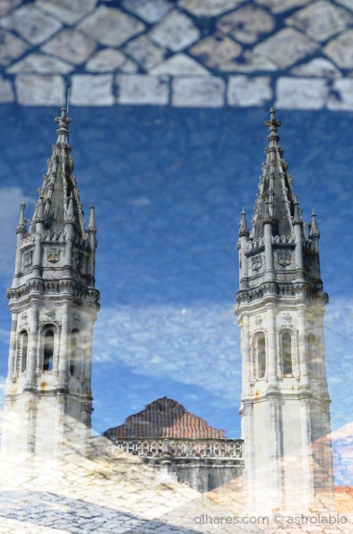 Abstrato/Espelho na água...mosteiro dos jerónimos