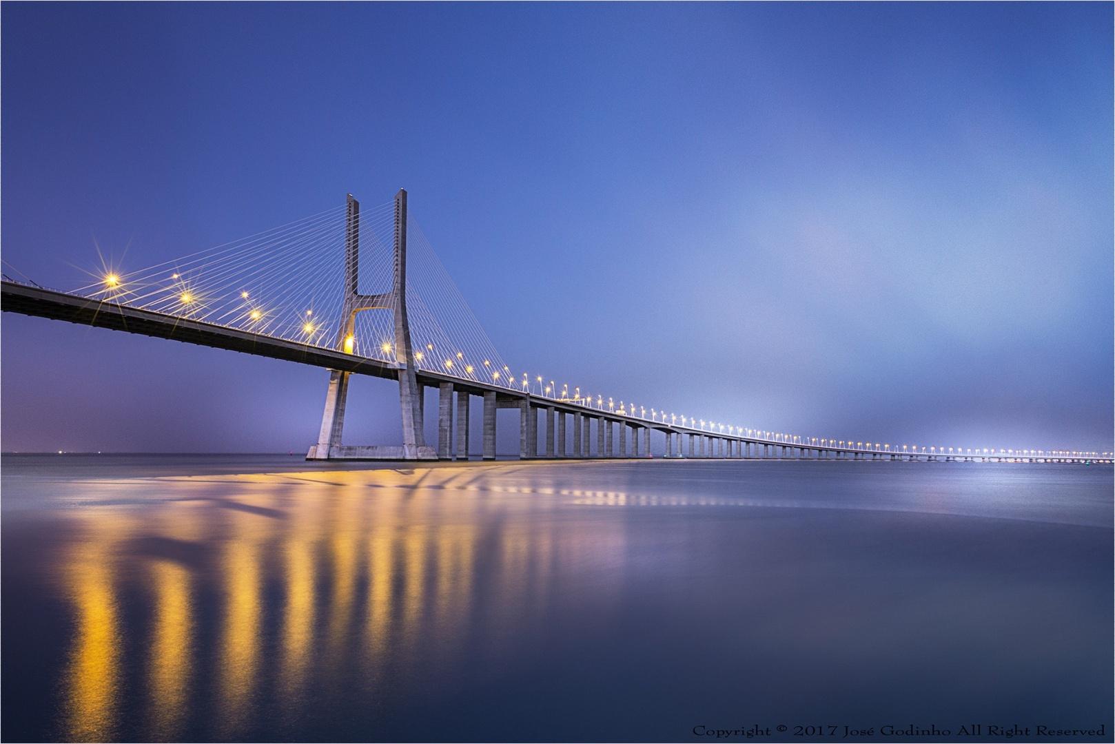 Paisagem Natural/Ponte Vasco da Gama - Lisboa