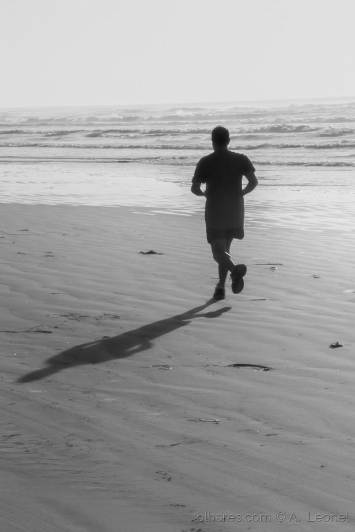 Desporto e Ação/Corrida na praia