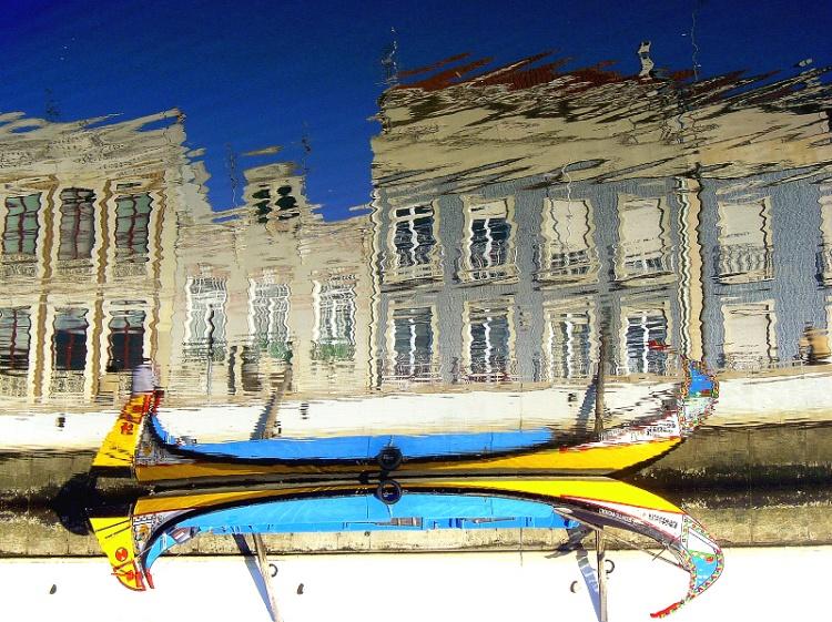 Abstrato/reflexos da minha cidade