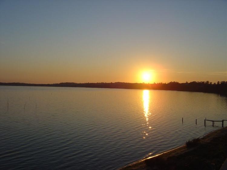 Paisagem Urbana/Nascer do sol em Laguna
