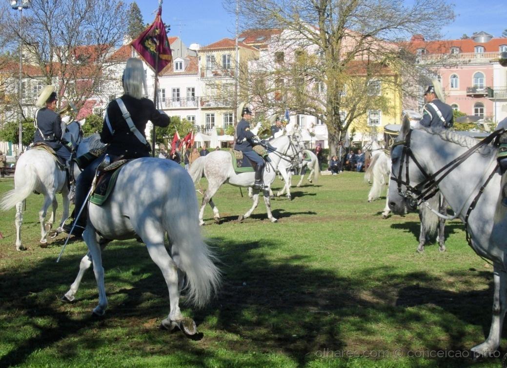 Fotojornalismo/Charanga a cavalo da GNR