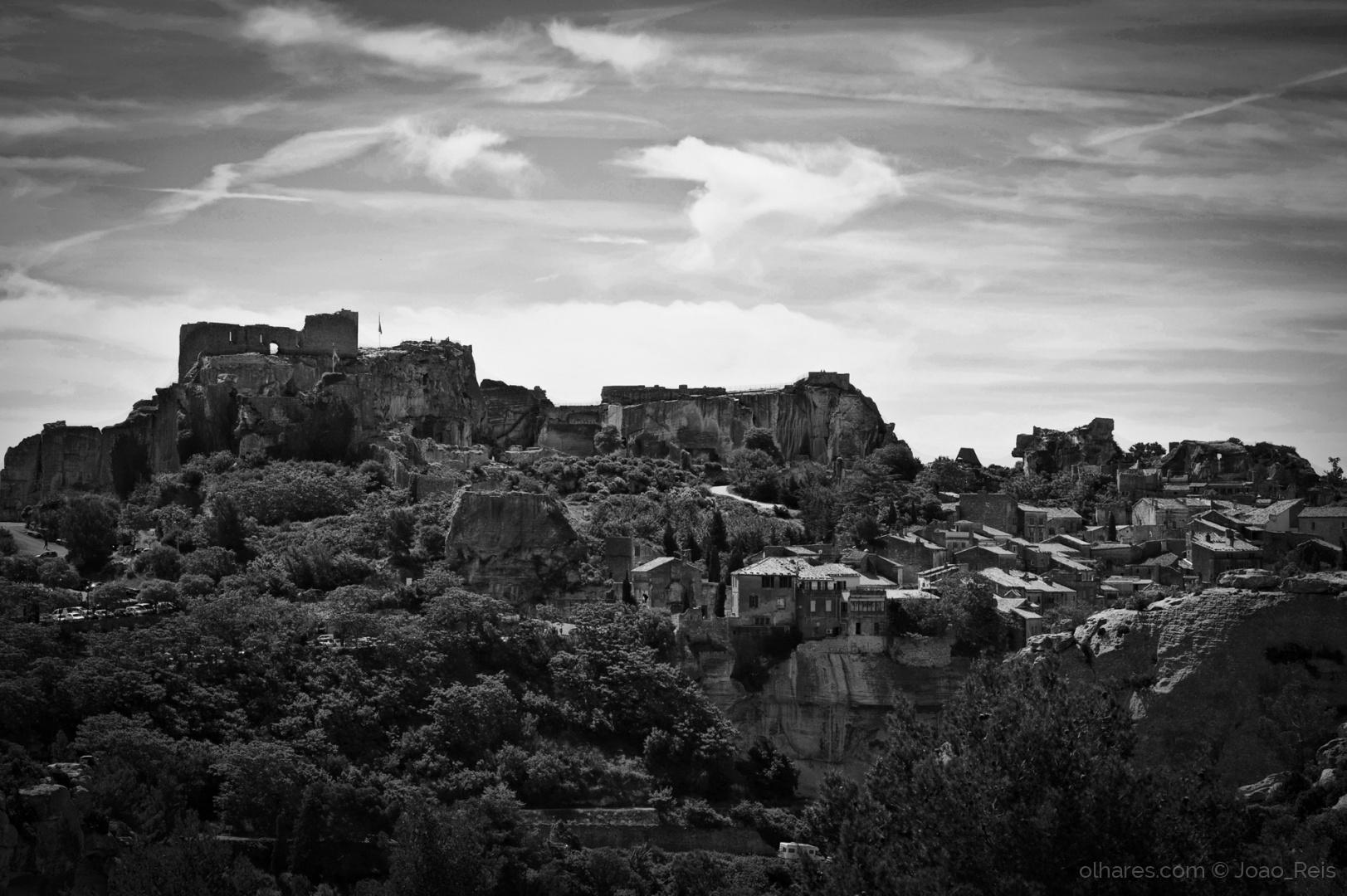 Paisagem Urbana/Les Baux-de-Provence (ver descrição)