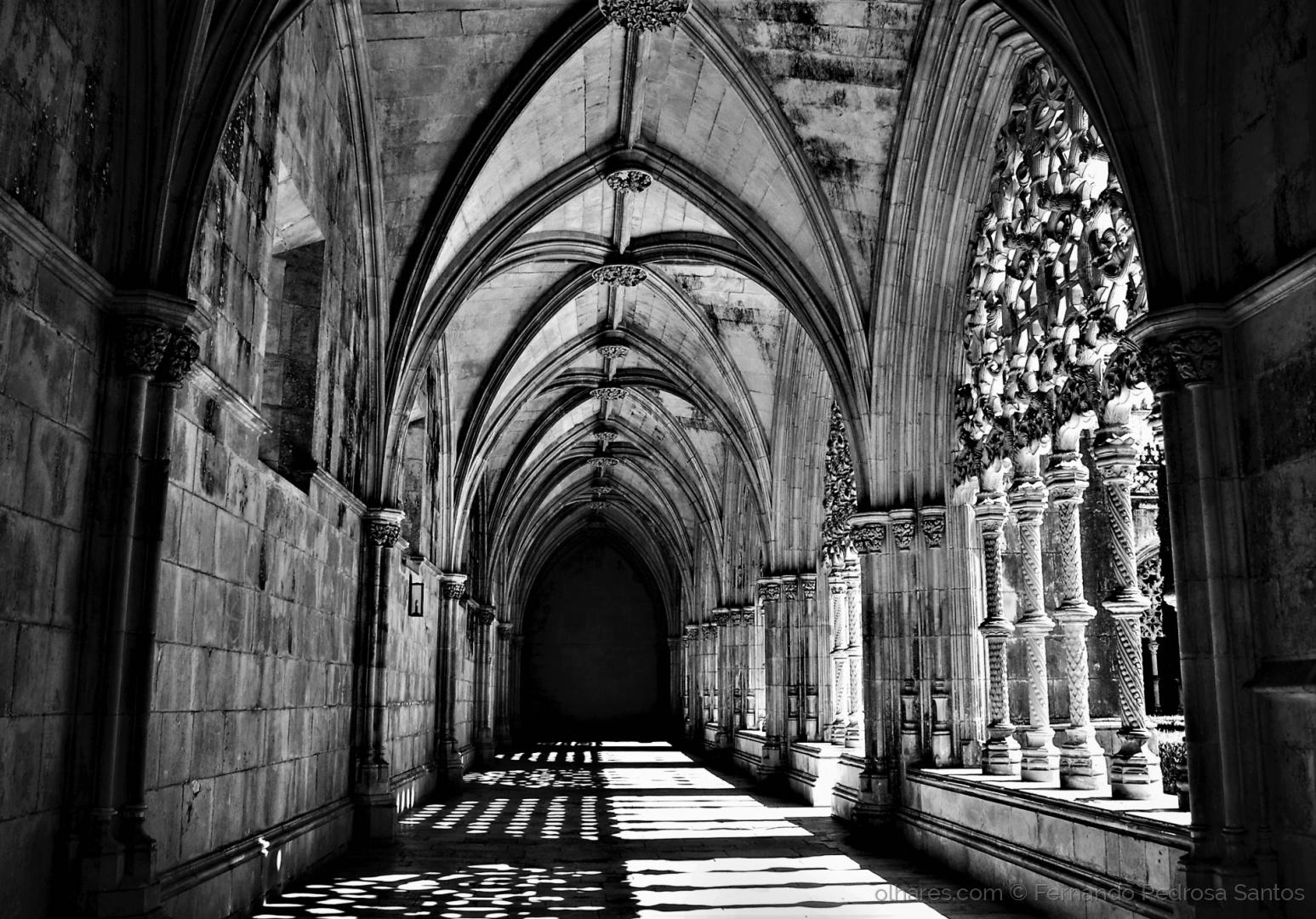 História/Claustro - Mosteiro da Batalha