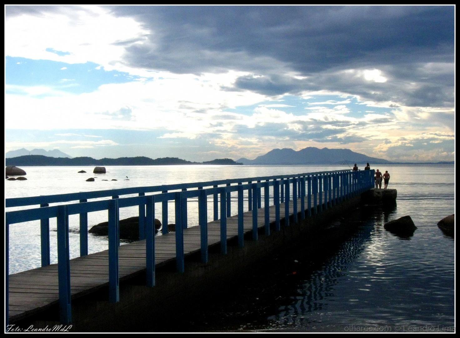 Paisagem Natural/Ponte dos Namorados - Ilha de Paquetá (ler)