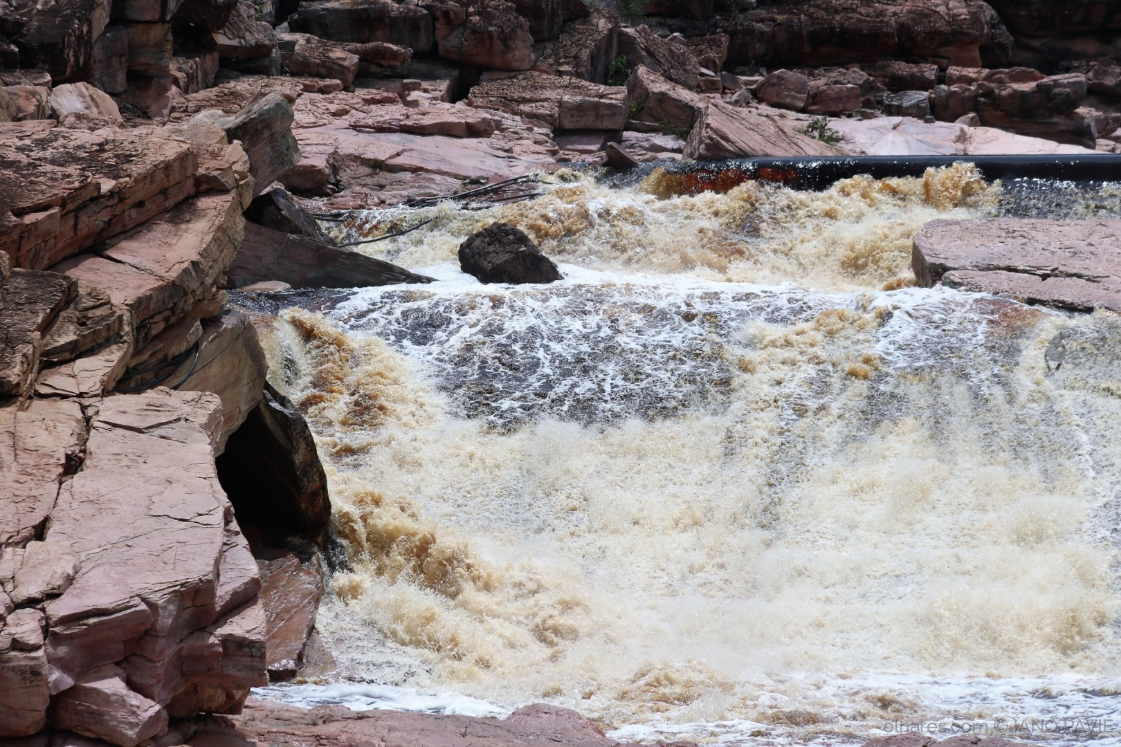 Paisagem Natural/Força das águas