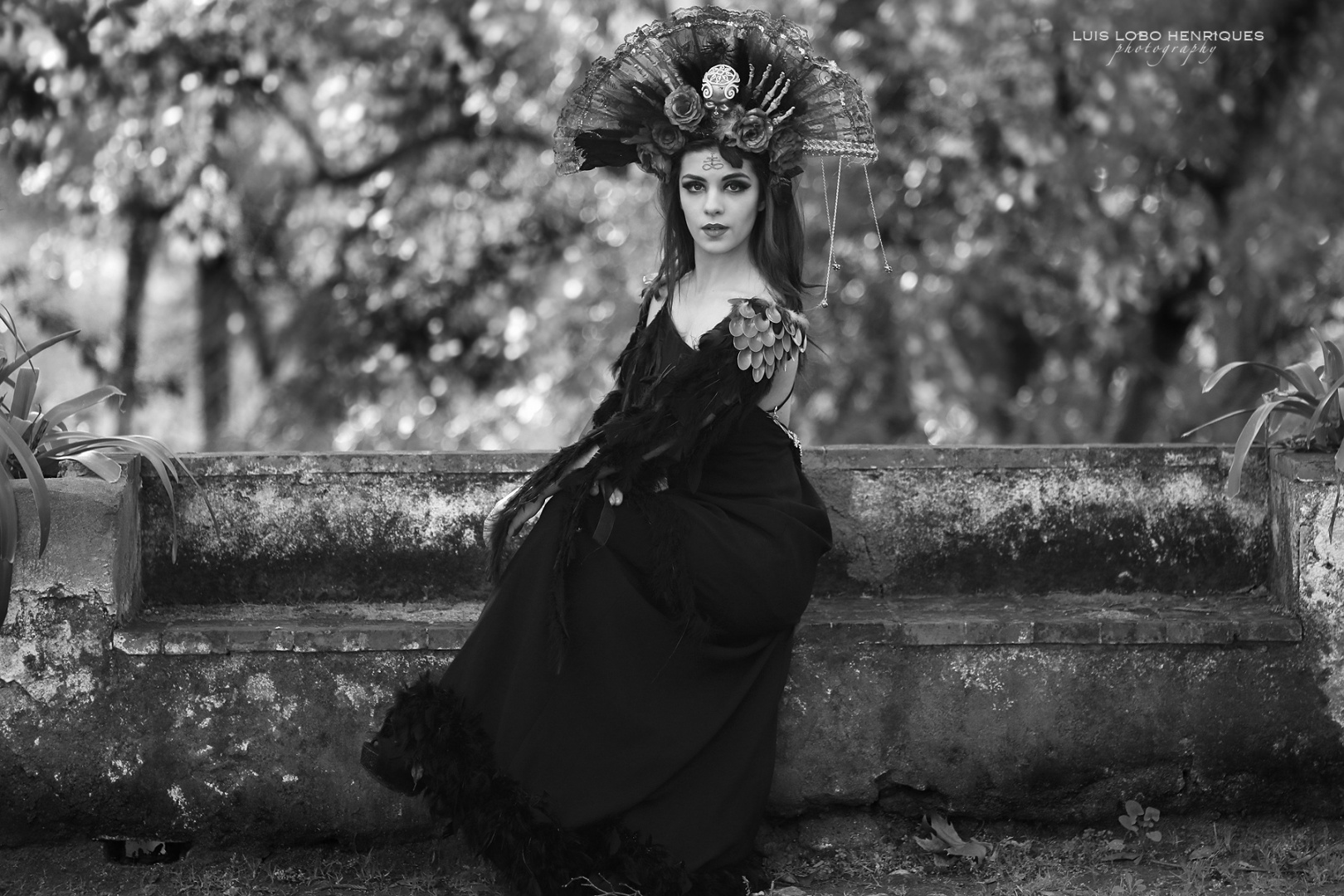 Retratos/black dress