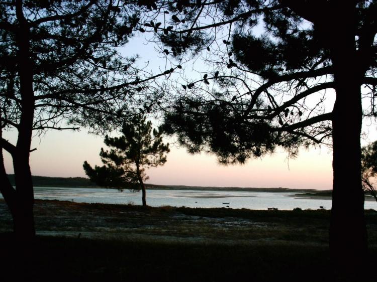 Paisagem Natural/Nightfall at the lagoon