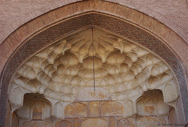 História/Cupula da Mesquita - Saveh