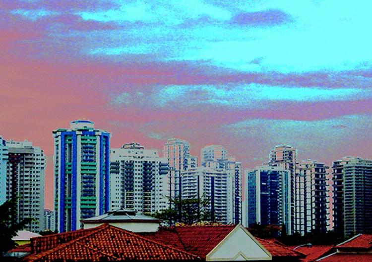 Paisagem Urbana/Telhados e predios