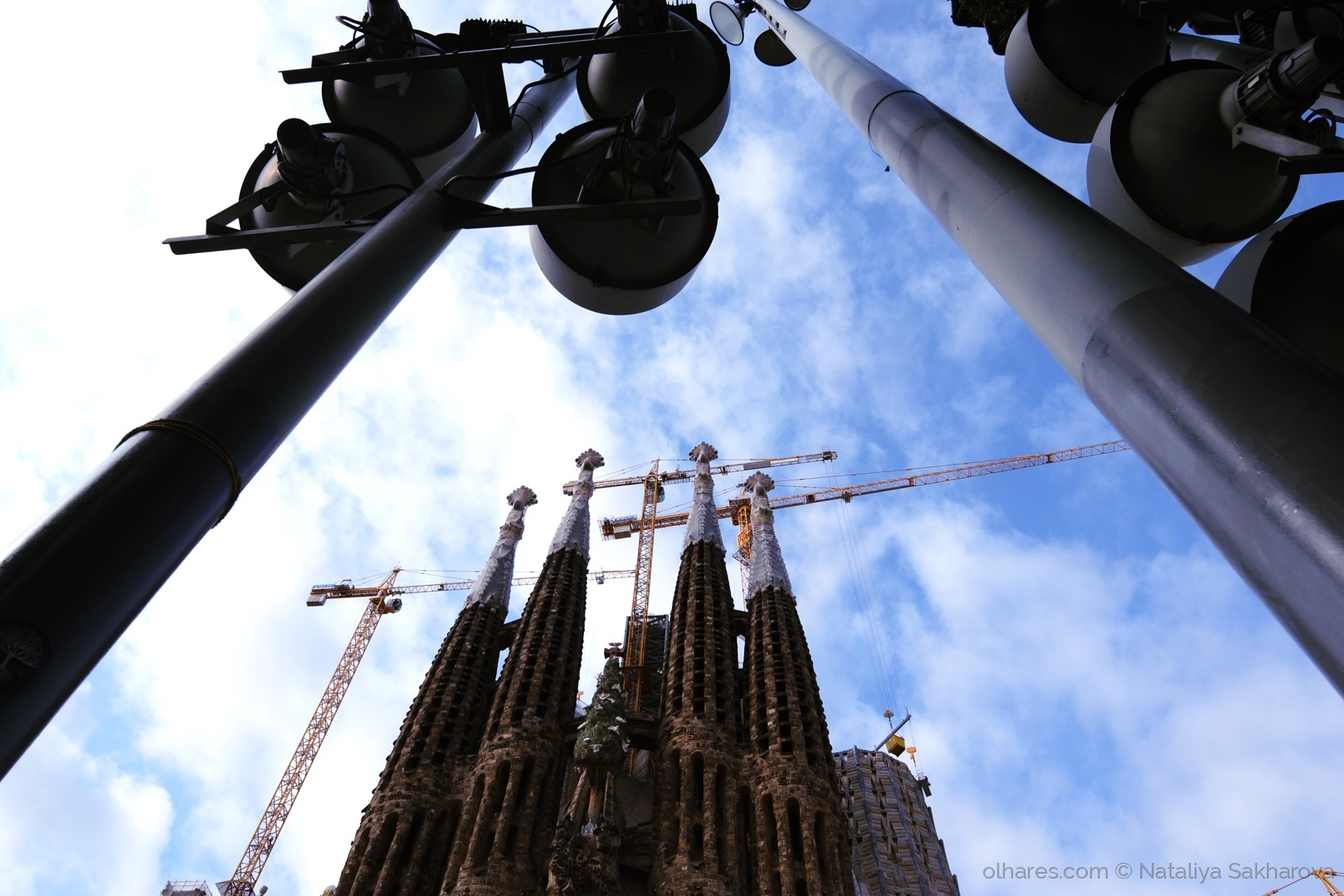 História/Sagrada Família em moldura.