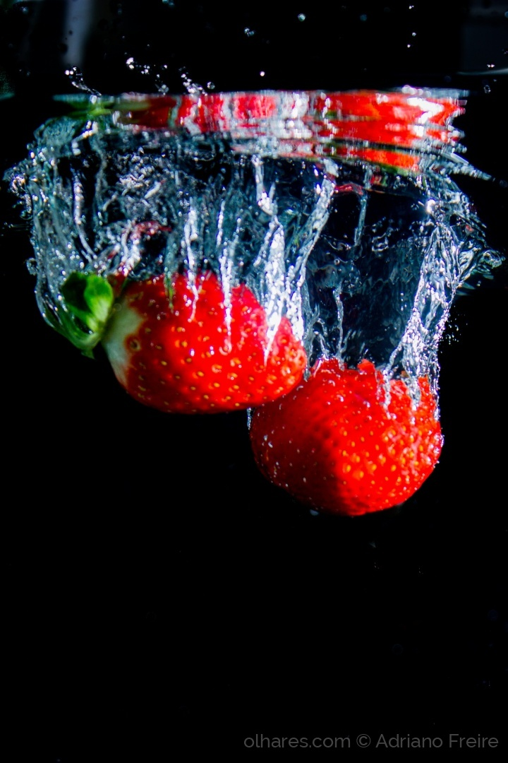 Abstrato/Strawberry Splash