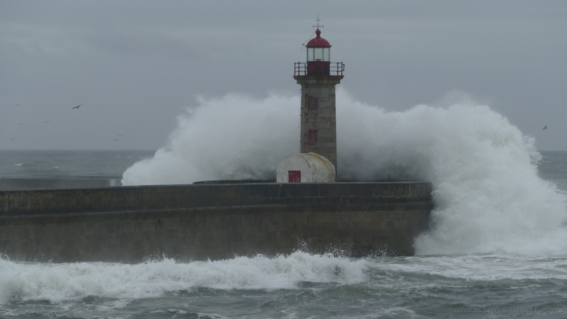 Paisagem Natural/Rebentação da onda