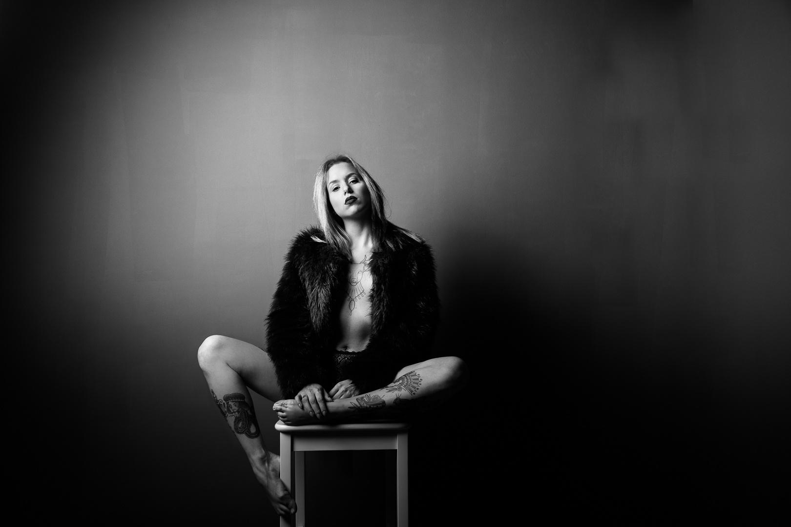 Retratos/some fatal black and white #2