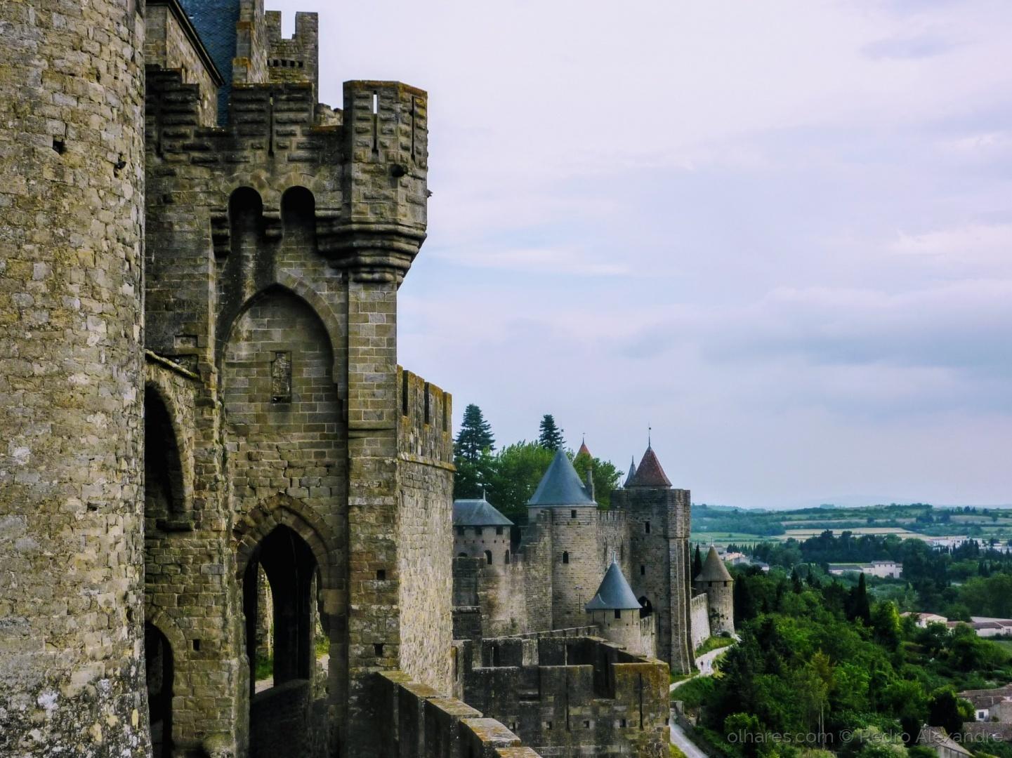 História/Castelo de Carcassonne