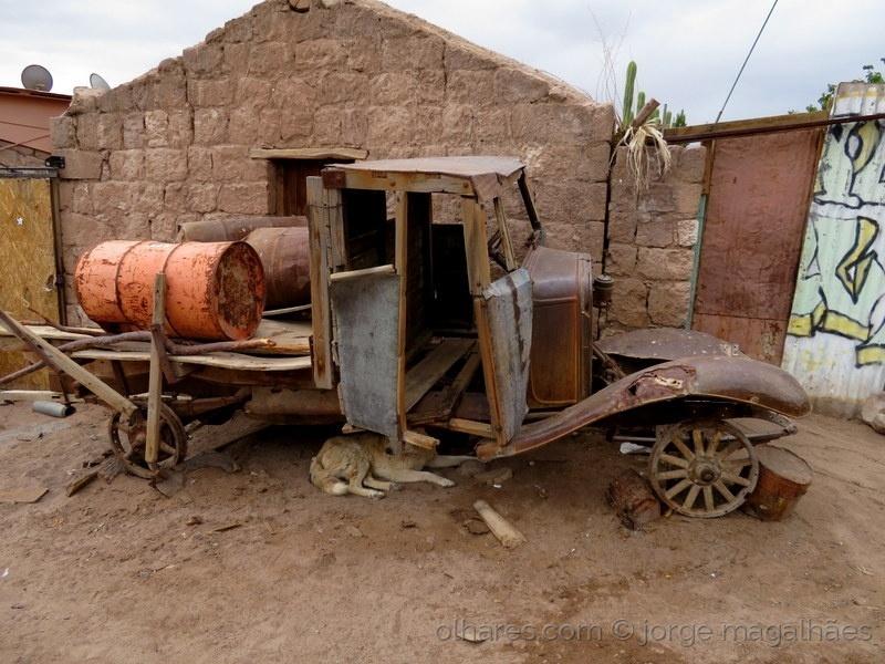 Fotojornalismo/Geringonça sem pneus