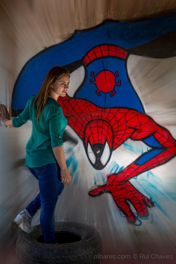 Retratos/in the spider man's world