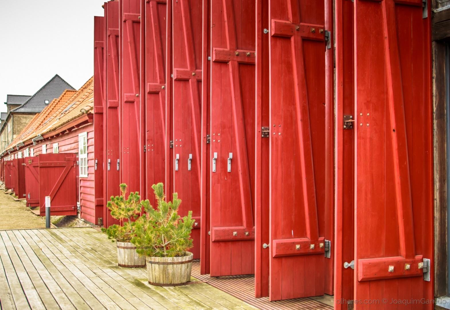 Gentes e Locais/Portas armazens Ilha de Holmen - København