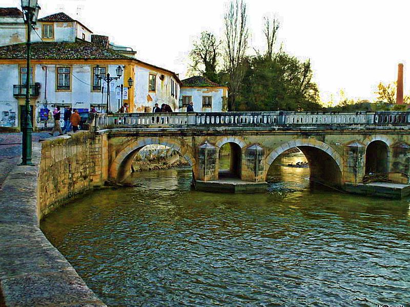 Gentes e Locais/Roman bridge in Tomar - ler