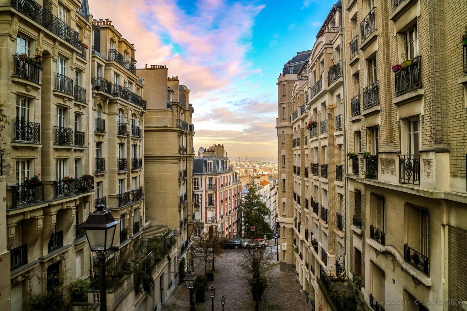 Paisagem Urbana/As ruas de Montmartre