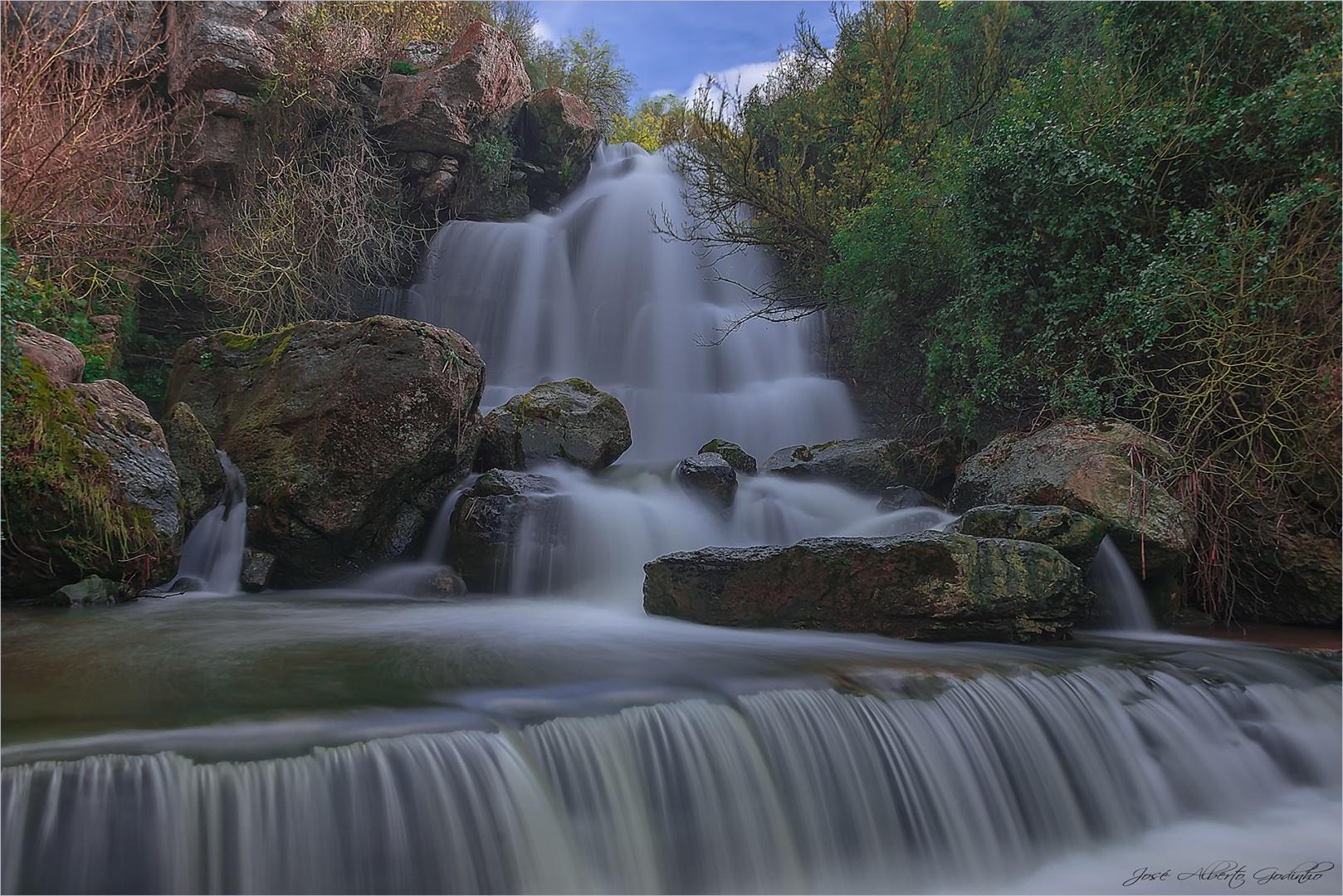 Paisagem Natural/Cascata da Fervença ou da Bajouca (localização)