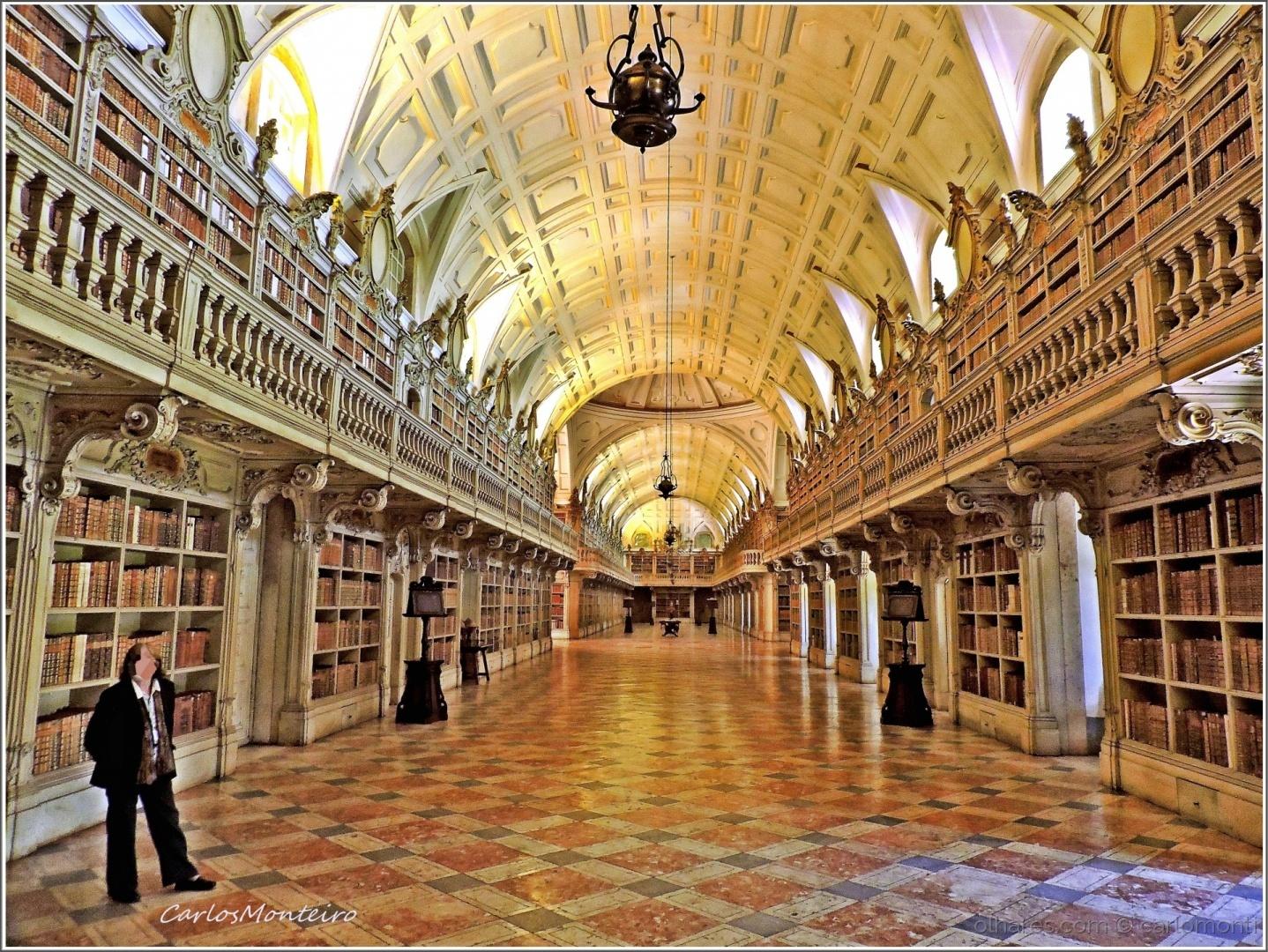 História/Biblioteca do Palácio Nacional de Mafra