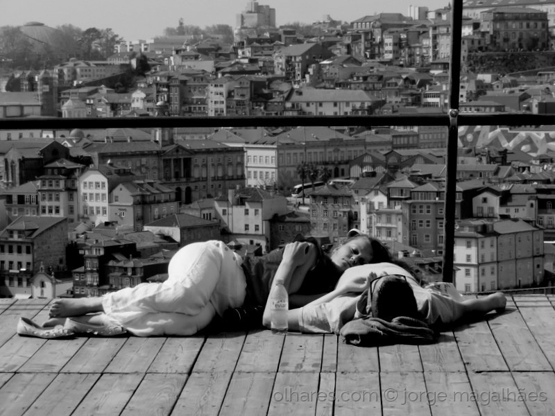 Fotojornalismo/O Porto, adormeceu-os