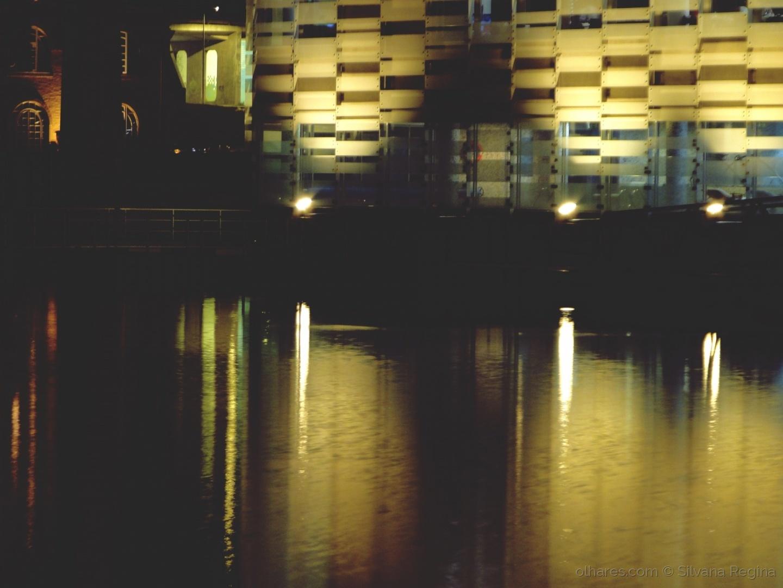 Abstrato/Luzes na Ria