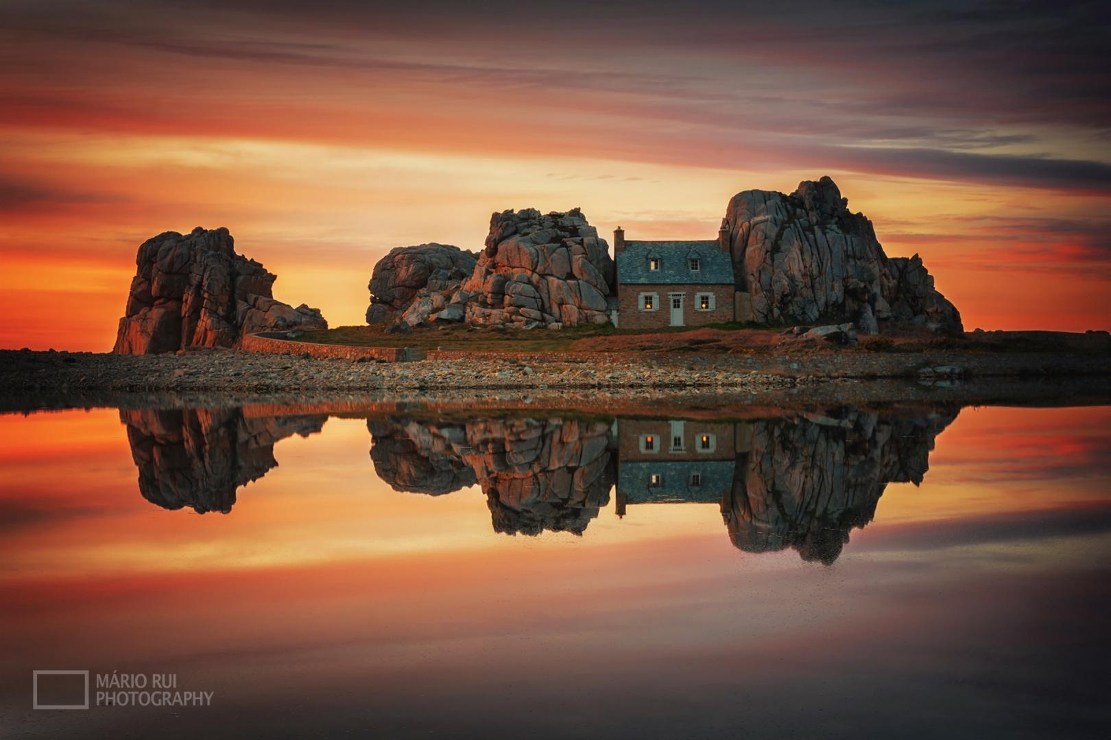 Paisagem Natural/Flintstones Sunset