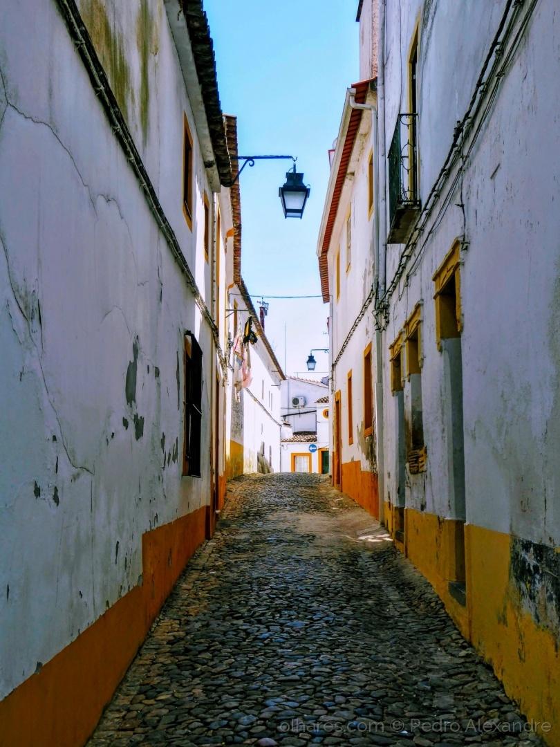 Paisagem Urbana/Travessa da cidade de Évora