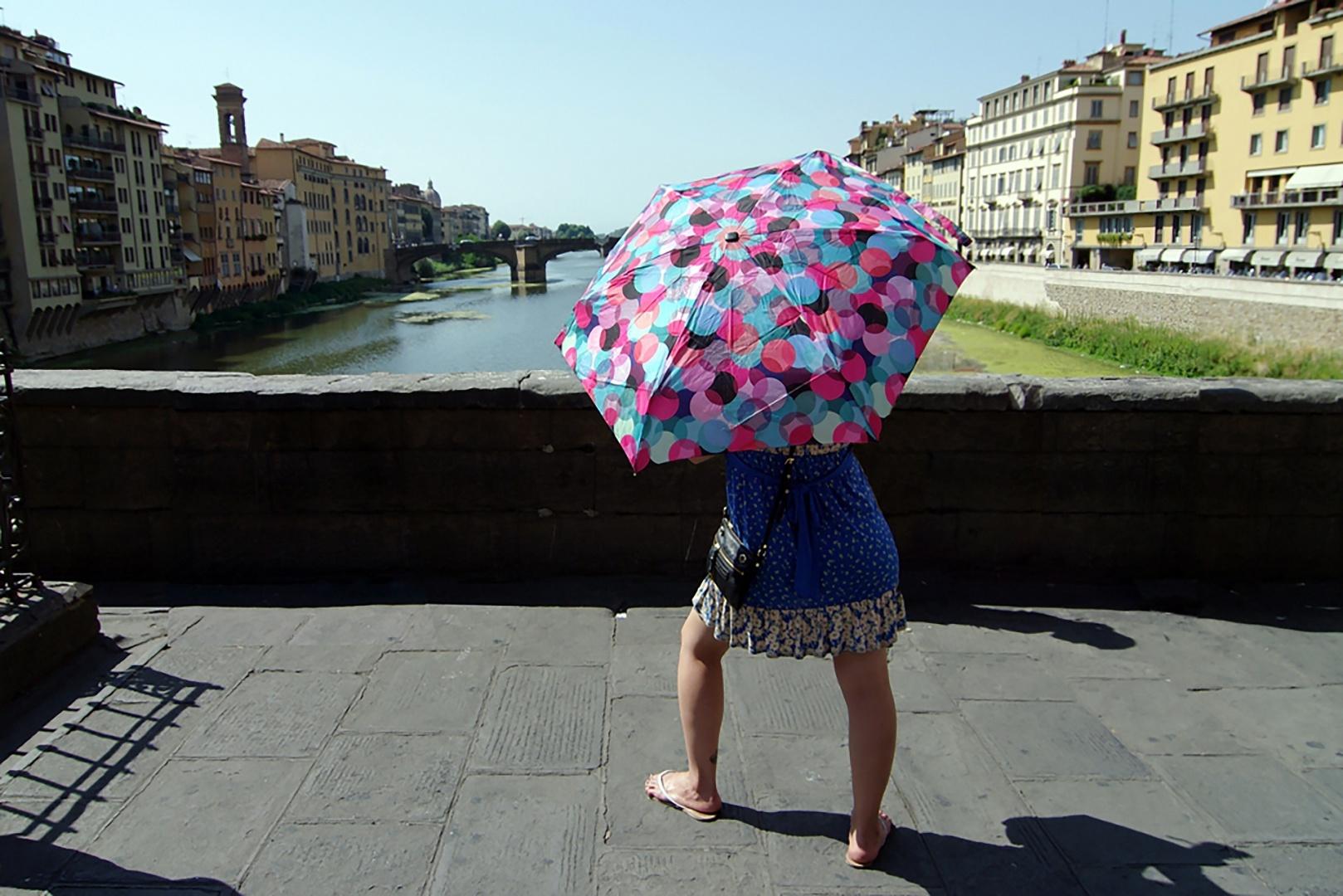 Gentes e Locais/A fotógrafa - Florença