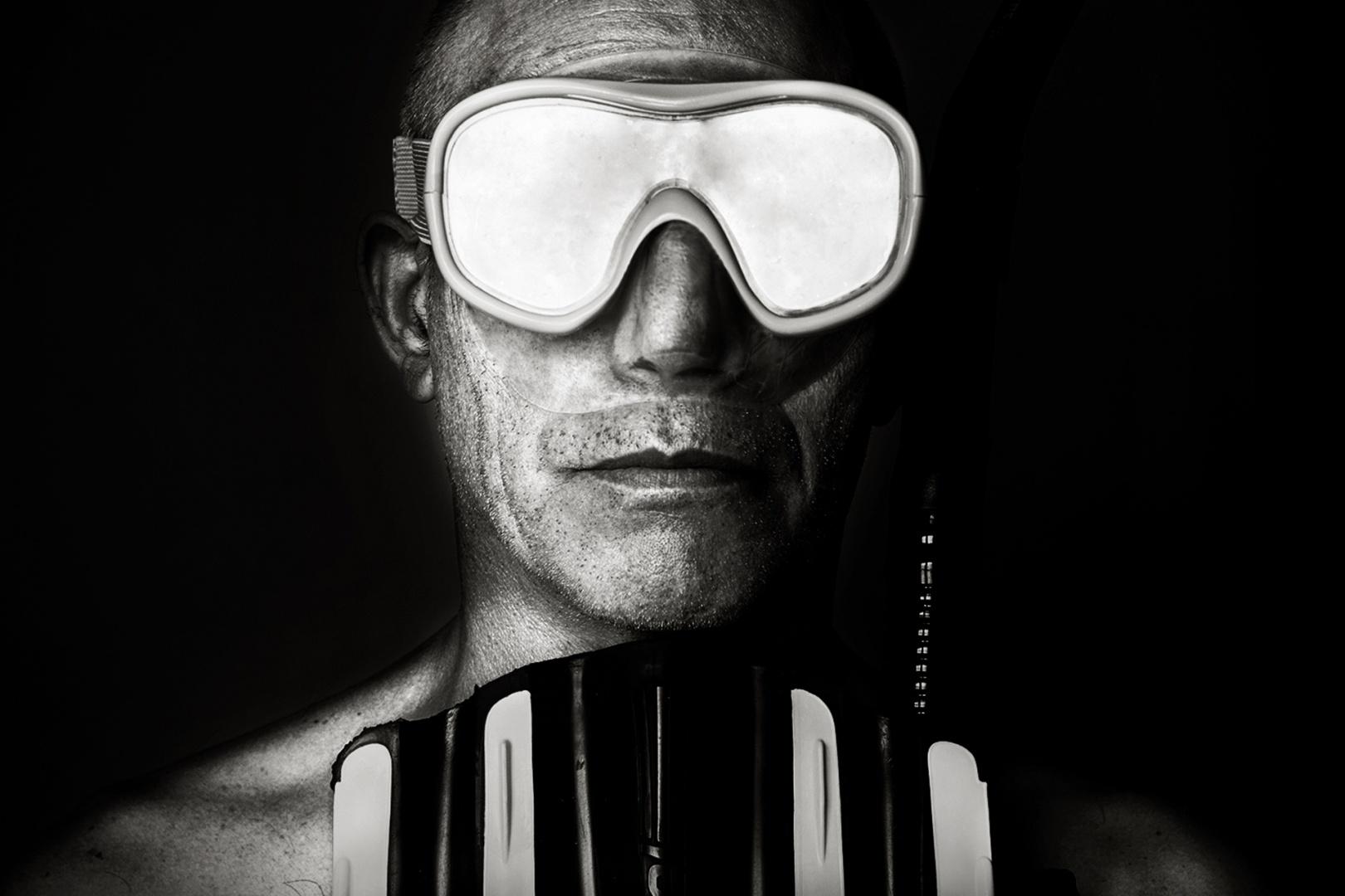 Retratos/O mergulhador